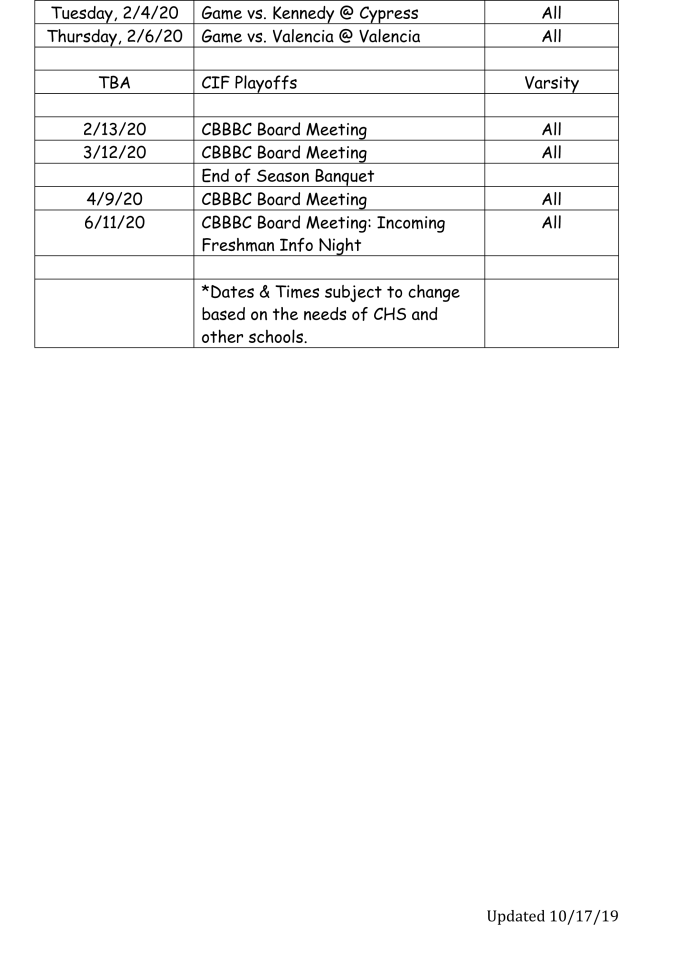 schedule 2019-20-2