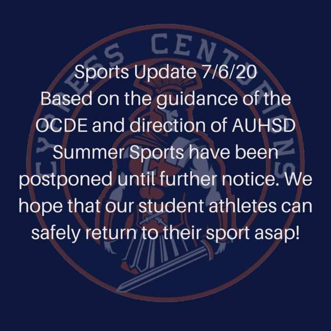 sport notice